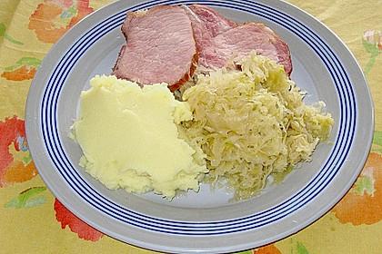 Sauerkraut mit Kassler 5