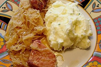 Sauerkraut mit Kassler 31
