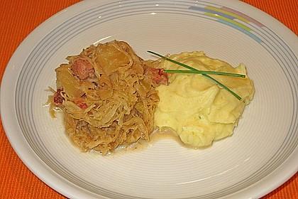 Sauerkraut mit Kassler 25