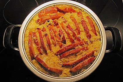 Sauerkraut mit Kassler 23