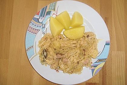 Sauerkraut mit Kassler 37