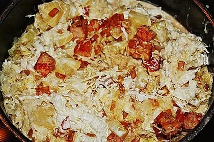 Sauerkraut mit Kassler 42