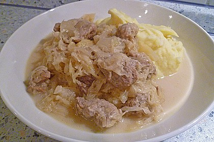 Sauerkraut mit Kassler 28