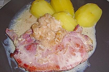 Sauerkraut mit Kassler 45
