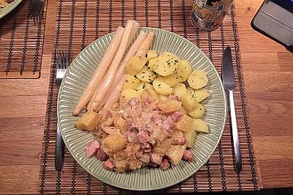 Sauerkraut mit Kassler 13