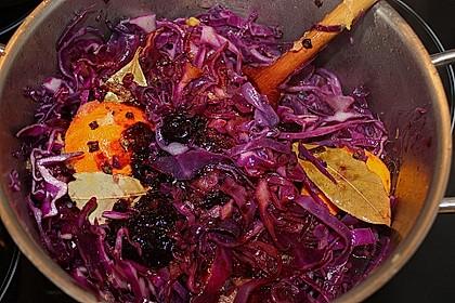 Rotkohl, frisch zubereitet 10