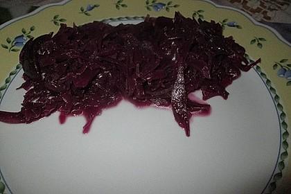 Rotkohl, frisch zubereitet 22