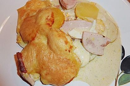 Kartoffel - Eier - Auflauf