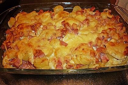 Kartoffel - Eier - Auflauf 1