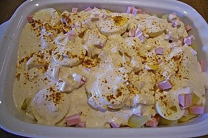 Kartoffel - Eier - Auflauf 12