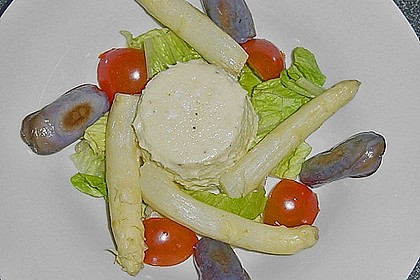 Spargel Timbale