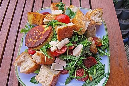 Italienischer Brotsalat 3