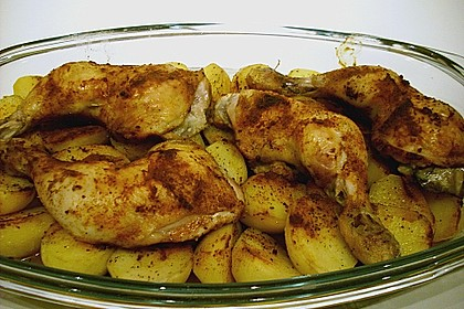 Huhn auf griechische Art 3
