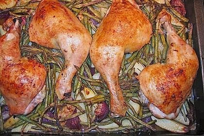 Huhn auf griechische Art 2