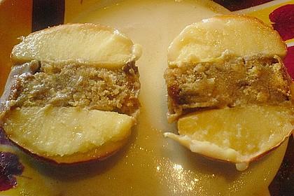 Bratapfel mit Marzipanfüllung 3