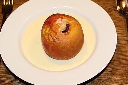 Bratapfel mit Marzipanfüllung 1