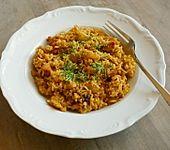 Paprika - Reis - Pfanne mit Huhn