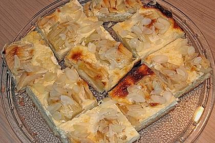 Apfelkuchen mit Amaretto - Schmandguss 3