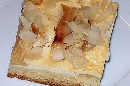 Apfelkuchen mit Amaretto - Schmandguss 6
