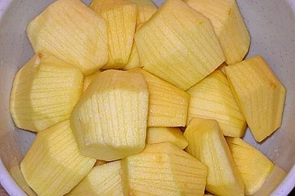 Apfelkuchen mit Amaretto - Schmandguss 8