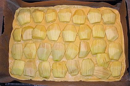 Apfelkuchen mit Amaretto - Schmandguss 10