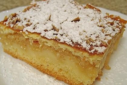 Apfelkuchen mit Amaretto - Schmandguss 4