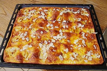 Apfelkuchen mit Amaretto - Schmandguss 1