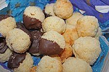Kokosbällchen oder Kokosmakronen