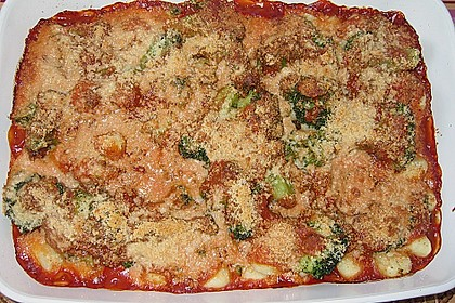 Gnocchi - Brokkoli - Auflauf 4