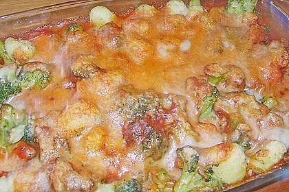 Gnocchi - Brokkoli - Auflauf 11