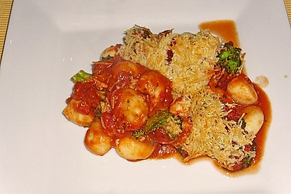 Gnocchi - Brokkoli - Auflauf 2