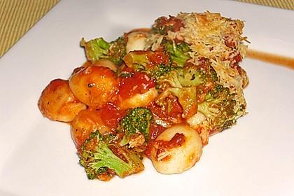 Gnocchi - Brokkoli - Auflauf 1