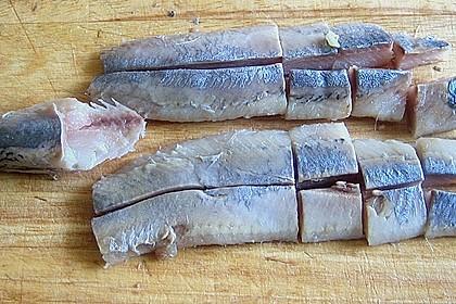 Oma Schmidts Matjes - Sandwich am Spieß 1