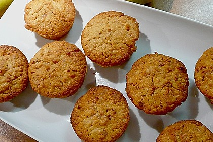 Quitten - Mandel - Muffins mit Mandelkrokant 2