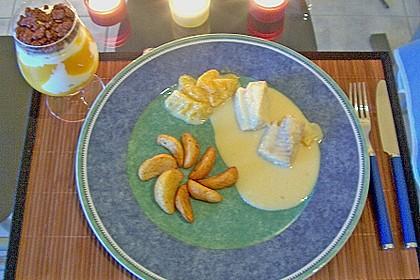 Meerrettich - Orangen Sauce