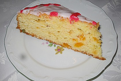 Rührkuchen mit Quark und Mandarinen 4