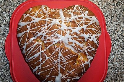 Rührkuchen mit Quark und Mandarinen 14