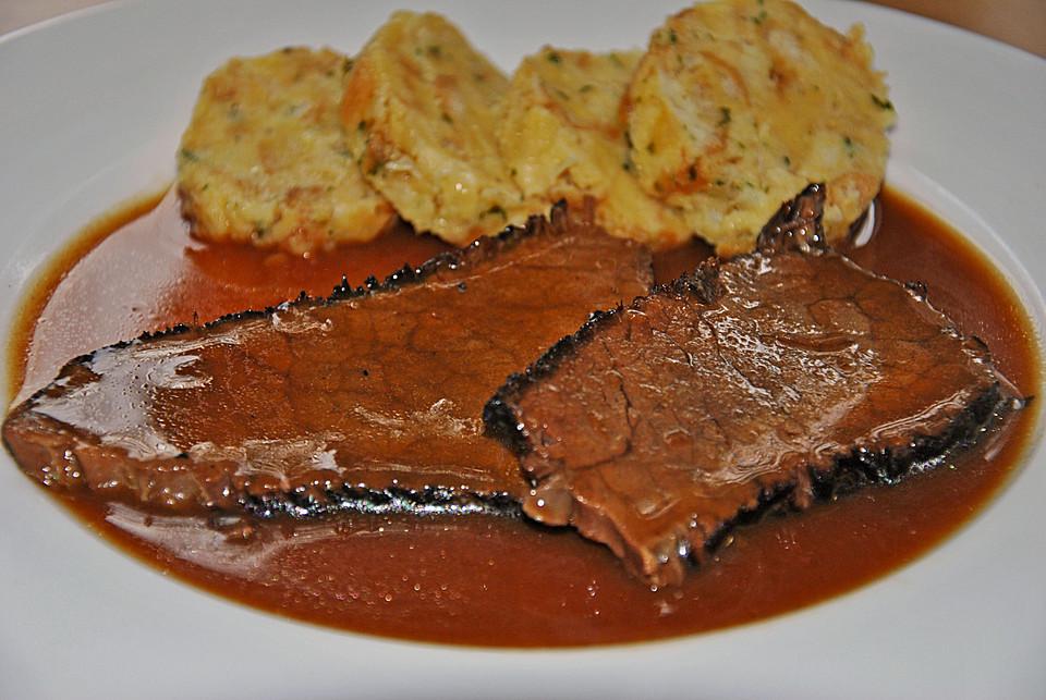 fränkischer sauerbraten rezepte | chefkoch.de - Fränkische Küche Rezepte