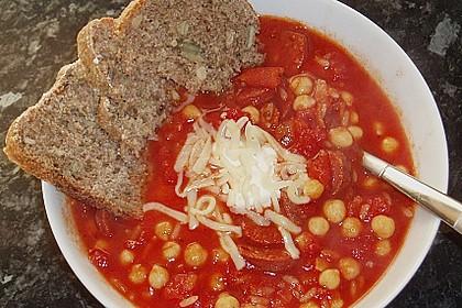 Kichererbseneintopf mit Chorizo 1