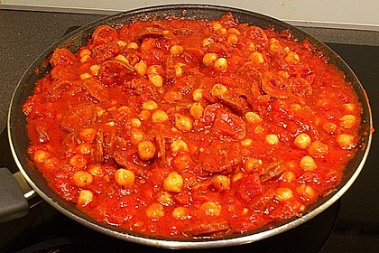 Kichererbseneintopf mit Chorizo 0
