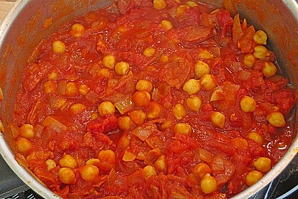 Kichererbseneintopf mit Chorizo 3