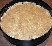 Apfelkuchen mit Schichtkäse (Bild)