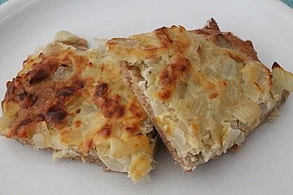 Zwiebelkuchen vom Blech 1