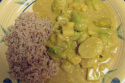 Rosenkohl in Currysauce 28