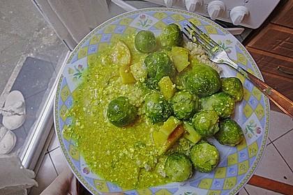 Rosenkohl in Currysauce 25
