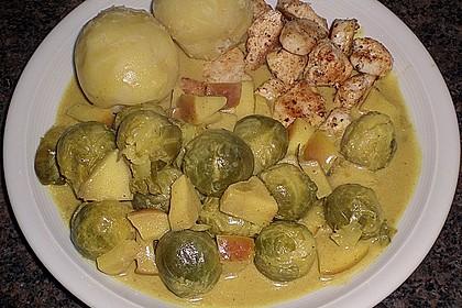 Rosenkohl in Currysauce 13