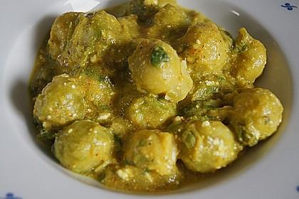Rosenkohl in Currysauce 21