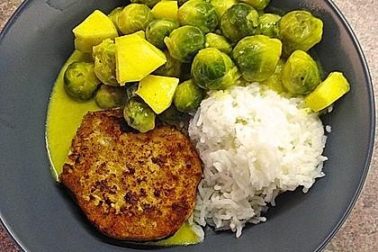 Rosenkohl in Currysauce 8