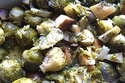Rosenkohl in Currysauce 10