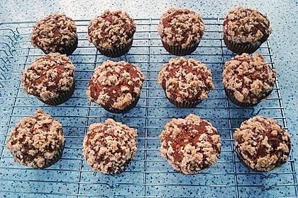 Kürbismuffins mit Äpfeln 2